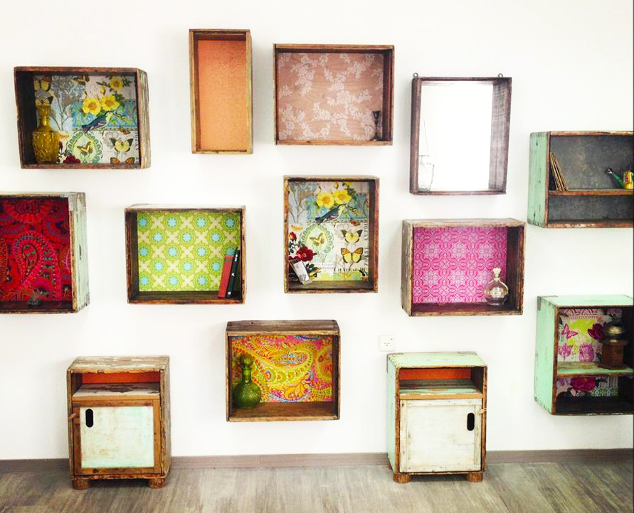 Upcycling Of A Furniture