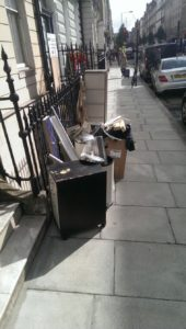 Importance of recycling wastes in London