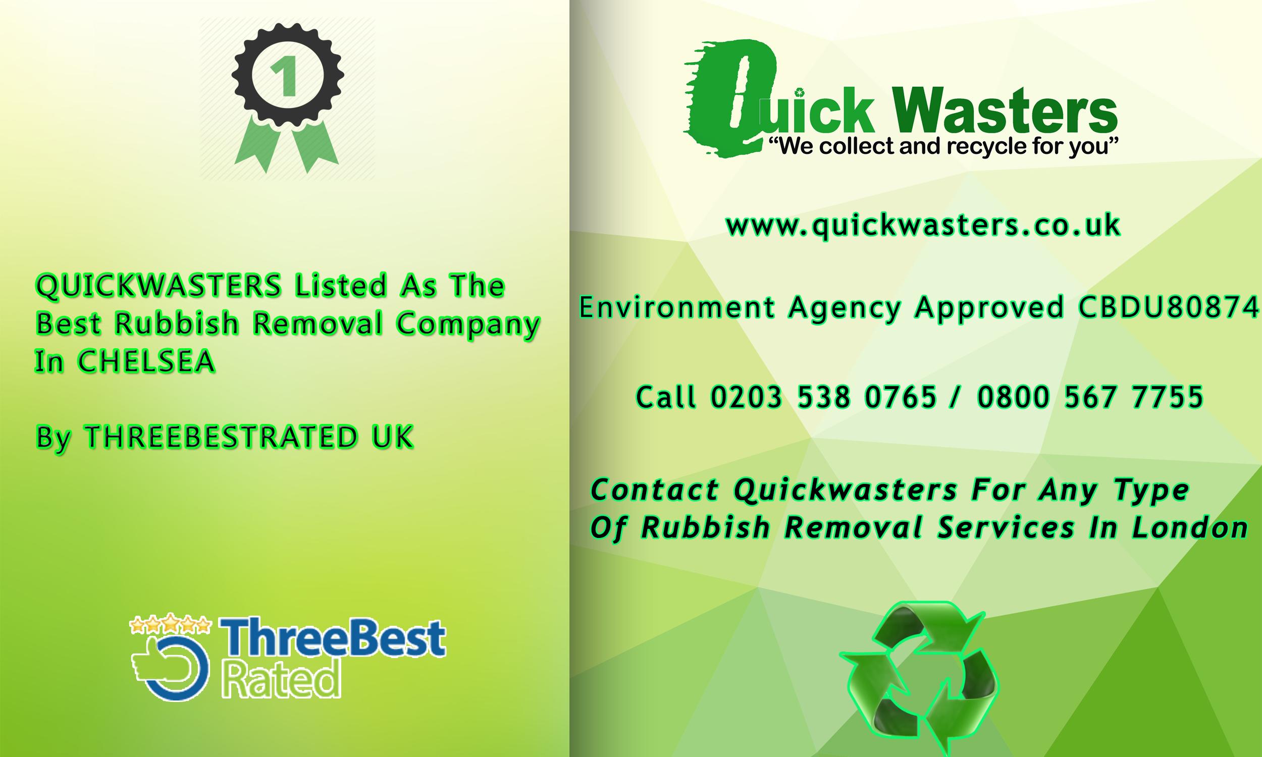 Quickwasters - Best In Chelsea