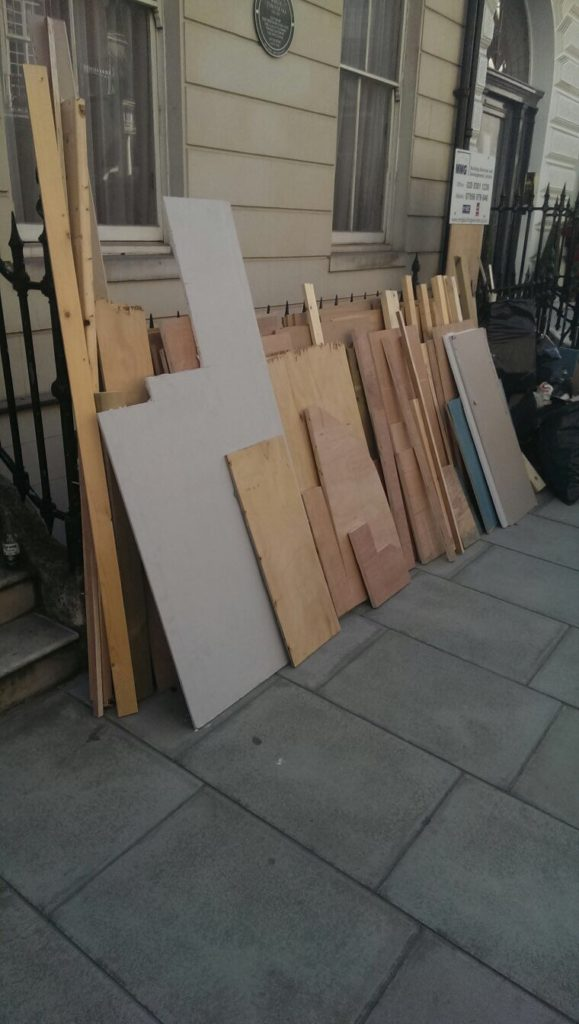 building waste clearance in London