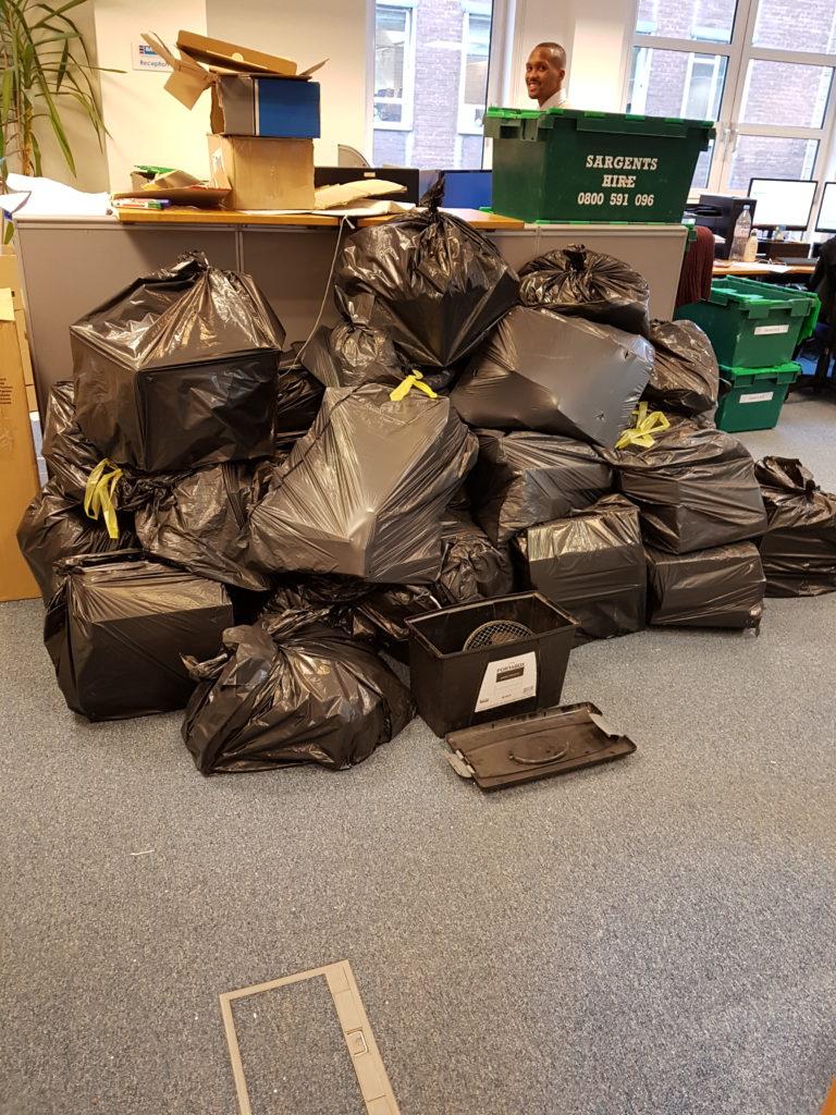 hiring rubbish removal company in London