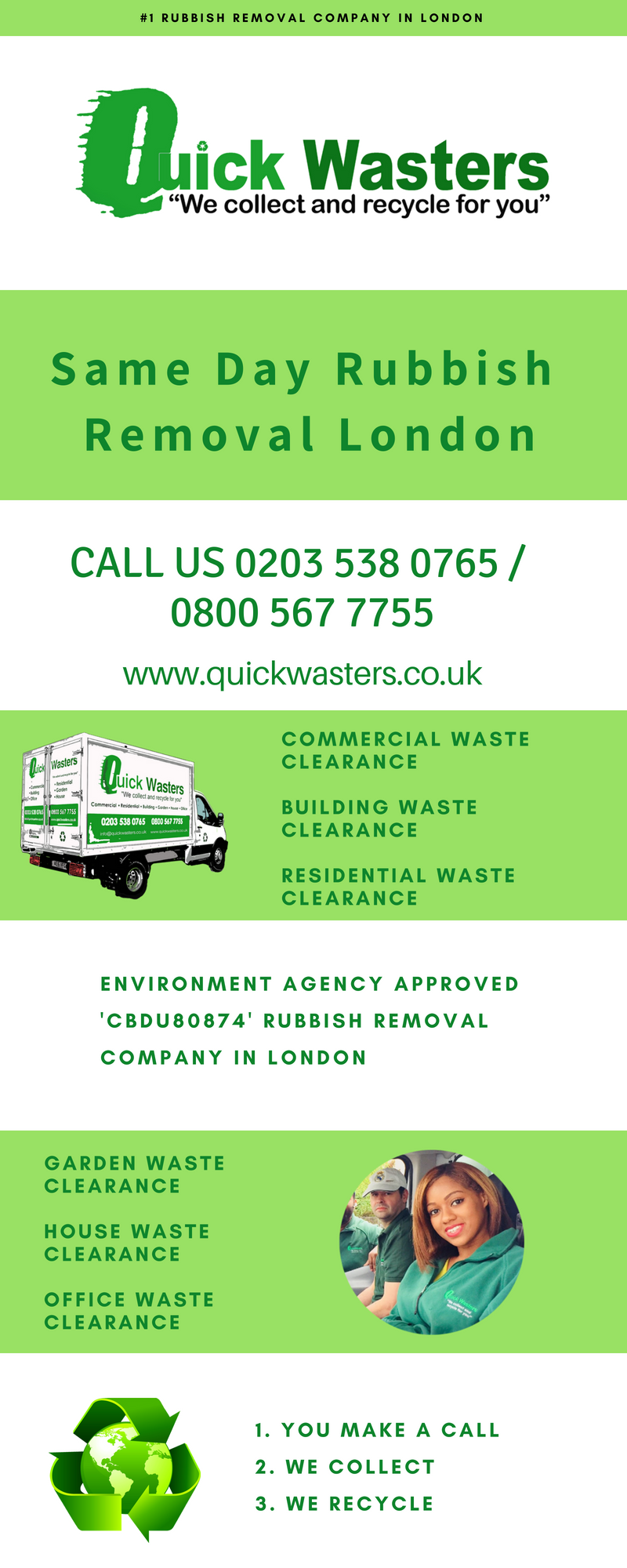 same day rubbish removal in london