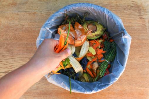 kitchen waste composting process