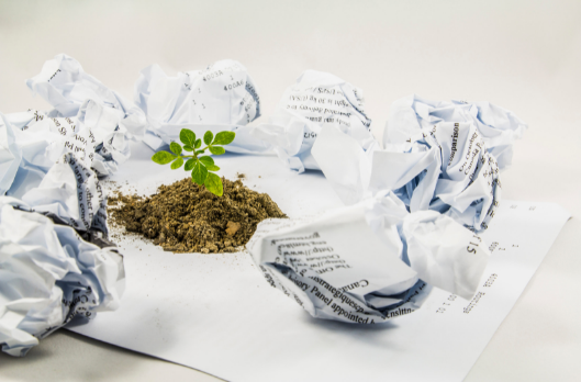 Reduce reuse Paper